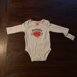 NWT Carter's Thanksgiving Onesie, 3M